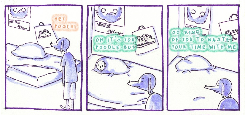 Il fumetto di Poschi el Perro