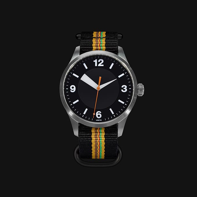Orologio meccanico UNOTRE - Versione dark