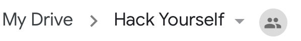 Hack Yourself